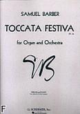 Ok�adka: Barber Samuel, Toccata festiva, op. 36