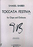 Okładka: Barber Samuel, Toccata festiva, op. 36