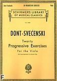 Okładka: Dont Jacob, 20 ćwiczeń progresywnych na duet altówek