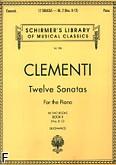 Ok�adka: Clementi Muzio, 12 Sonat w dw�ch cz�ciach z. 2 (nry 8-12)
