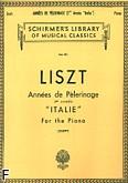 Okładka: Liszt Franz, Annee De Pelerinage - Book 2: 'Italie'