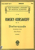 Okładka: Rimski-Korsakow Mikołaj, Sheherazade, Op. 35 (Piano Reduction)