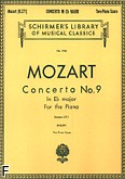 Okładka: Mozart Wolfgang Amadeusz, Koncert fortepianowy nr 9, Es-dur, K.271