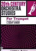 Okładka: Johnson Gilbert, 20th Century Orchestra Studies For Trumpet (Trumpet)