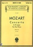Okładka: Mozart Wolfgang Amadeusz, Koncert fortepianowy nr 5, D-dur, K.175