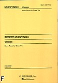 Okładka: Muczynski Robert, Voyage, op. 27 (partytura + głosy)