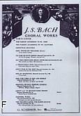 Okładka: Bach Johann Sebastian, Msza h-moll