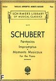 Ok�adka: Schubert Franz, Fantasias, Impromptus, Moments Musicaux