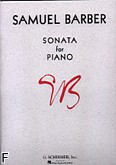 Okładka: Barber Samuel, Sonata