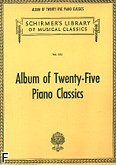 Okładka: , Album Of Twenty-five Piano Classics