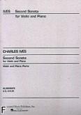 Okładka: Ives Charles E., Sonata nr 2