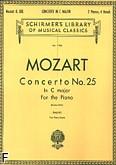 Okładka: Mozart Wolfgang Amadeusz, Koncert fortepianowy nr 25, C-dur, K.503
