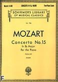 Okładka: Mozart Wolfgang Amadeusz, Koncert fortepianowy nr 15, B-dur, K. 450