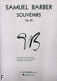 Ok�adka: Barber Samuel, Souvenirs op. 28