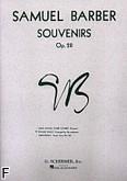Okładka: Barber Samuel, Souvenirs op. 28