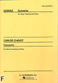 Okładka: Chavez Carlos, Koncert na puzon tenorowy i fortepian