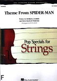 Ok�adka: Harris Robert J., Webster Paul Francis, Theme From Spider - Man (score + parts)