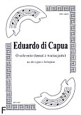 Ok�adka: Capua Eduardo di, O sole mio na skrzypce i fortepian, opr. �arejko