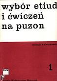 Ok�adka: Kwiatkowski Ryszard, Wyb�r etiud i �wicze� na puzon, z. 1