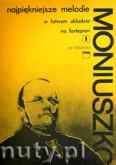 Ok�adka: Moniuszko Stanis�aw, Najpi�kniejsze melodie w �atwym uk�adzie na fortepian z. 1