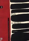 Ok�adka: Orzechowski Jerzy, Etiudy na akordeon, z. 3 (akordeon solo z manua�em basowym lub melodycznym)