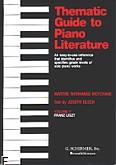 Okładka: Morhange-Motchane Marthe, Tematyczny przewodnik po literaturze fortepianowej - z. 5: Franz Liszt