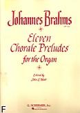 Okładka: Brahms Johannes, 11 chorałów i preludiów na organy op. 122