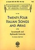 Okładka: , 24  włoskie pieśni i arie na głos średni lub wysoki