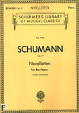 Ok�adka: Schumann Robert, Noveletten for the Piano, Op. 21