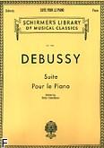 Okładka: Debussy Claude, Suita na fortepian