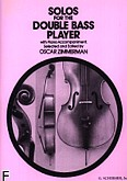 Ok�adka: Zimmerman Oscar, Solos For the Double Bass Player
