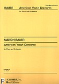 Okładka: Bauer Marion, Amerykański koncert dla młodych solistów na fortepian i orkiestrę