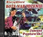 Okładka: Popławski Janusz, Szczęśliwe Boże Narodzenie CD