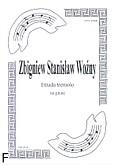 Okładka: Woźny Zbigniew Stanisław, Etiuda tremolo na gitarę