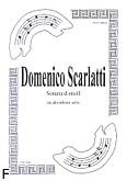 Okładka: Scarlatti Domenico, Sonata d-moll na akordeon opr. Gembara