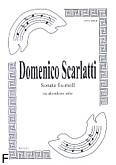 Ok�adka: Scarlatti Domenico, Sonata fis-moll na akordeon