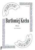 Okładka: Krcha Bartłomiej, Blues na wibrafon