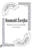 Okładka: Żarejko Romuald, Pójdźmy wszyscy do stajenki na 3 skrzypiec (partytura + głosy)