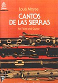 Ok�adka: Moyse Louis, Cantos De Las Sierras for Flute and Guitar