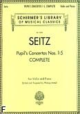 Ok�adka: Seitz Friedrich, Pupil's Concertos Nos. 1-5