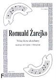 Ok�adka: �arejko Romuald, Witaj Jezu ukochany na 3 skrzypiec i fortepian (partytura)