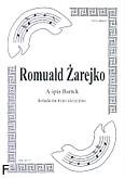 Ok�adka: �arejko Romuald, A �pis Bartek na 3 skrzypiec (partytura + g�osy)