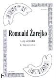 Okładka: Żarejko Romuald, Bóg się rodzi na 3 skrzypiec (partytura + głosy)