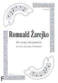 Okładka: Żarejko Romuald, Do szopy hej pasterze na 3 skrzypiec i fortepian (partytura)