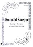 Ok�adka: �arejko Romuald, Dzisiaj w Betlejem na 3 skrzypiec i fortepian (partytura + g�osy)