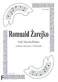 Okładka: Żarejko Romuald, Gdy śliczna Panna na 3 skrzypiec i fortepian (partytura + głosy)
