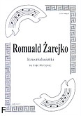 Ok�adka: �arejko Romuald, Jezus malusie�ki (partytura)