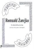 Okładka: Żarejko Romuald, Kolęda klasztorna na 3 skrzypiec i fortepian (partytura)