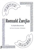 Ok�adka: �arejko Romuald, Kol�da klasztorna na 3 skrzypiec i fortepian (partytura)