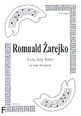 Okładka: Żarejko Romuald, Leży Jezus na 3 skrzypiec (partytura)